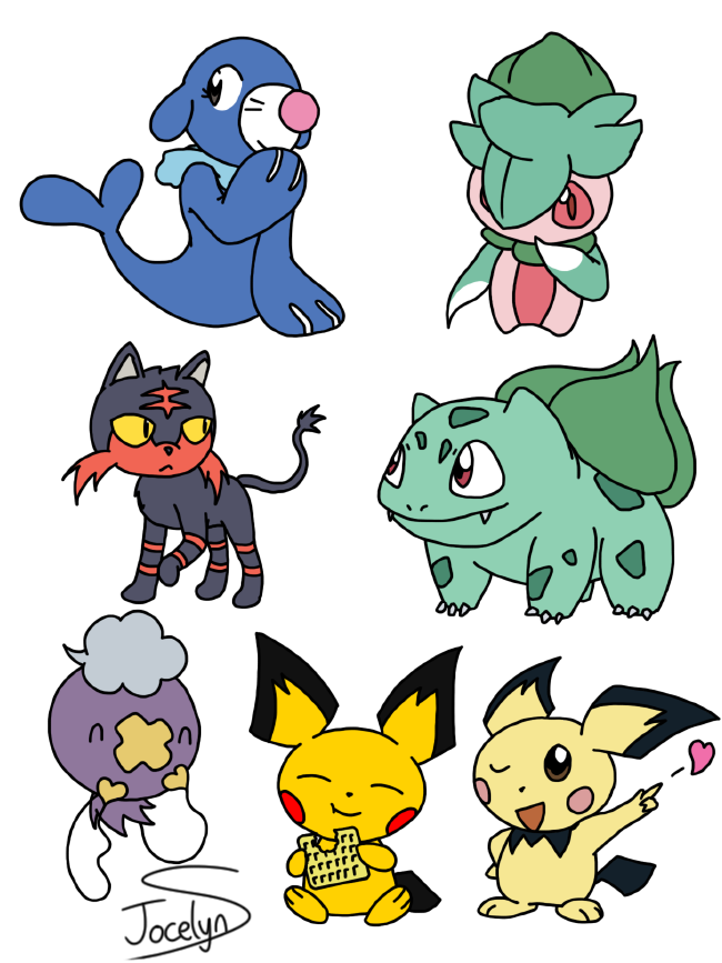 Assorted Pokeymans