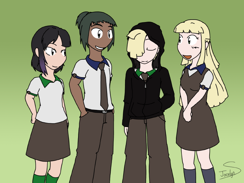 MW - Transfer Students from Alola