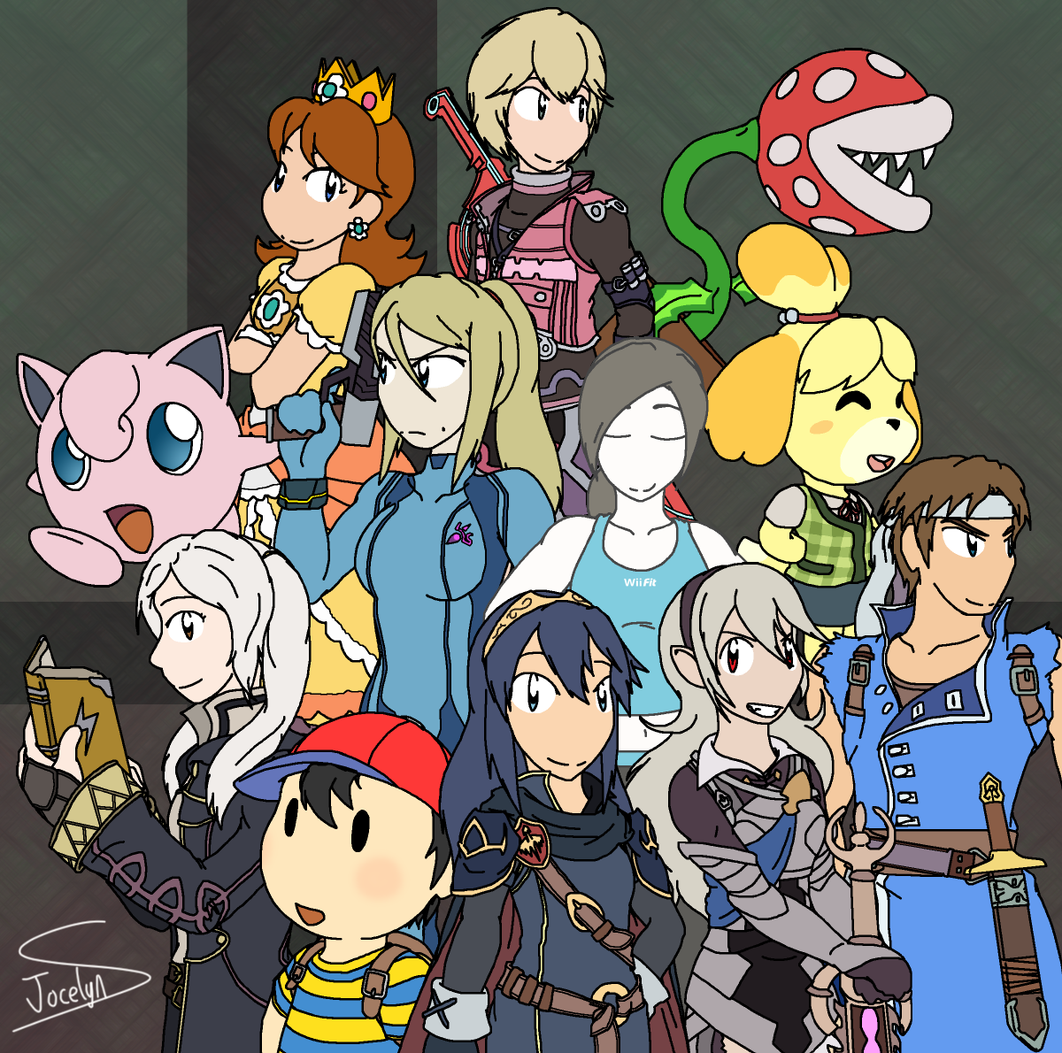 Smash Bros Ultimate Faves